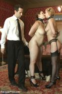 Bella Rossi and Cherry Torn bdsm slaves are toying