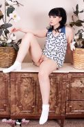 Incredible Bailey Jay posing her perfect body