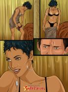 Sexy Halle Berry getting fucked in this celebs comics