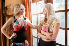 Julia Ann and Scarlet Red Lesbian Babysitters