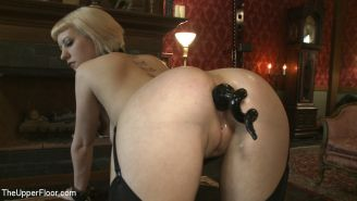 Cherry Torn and gf bdsm sex slaves are humiliated