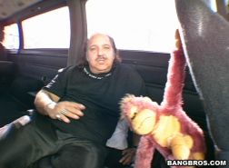 ron jeremy banging a unsuspecting ho on the nag bus..yeah