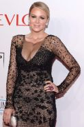 Jewel Kilcher showing huge cleavage at Elton John AIDS Foundations 13th Annual A