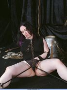 Medieval bondage and extreme gagging bdsm torments