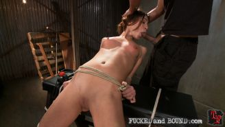 Amber Rayne loves bondage as much as she loves getting fucked hard in the ass. S