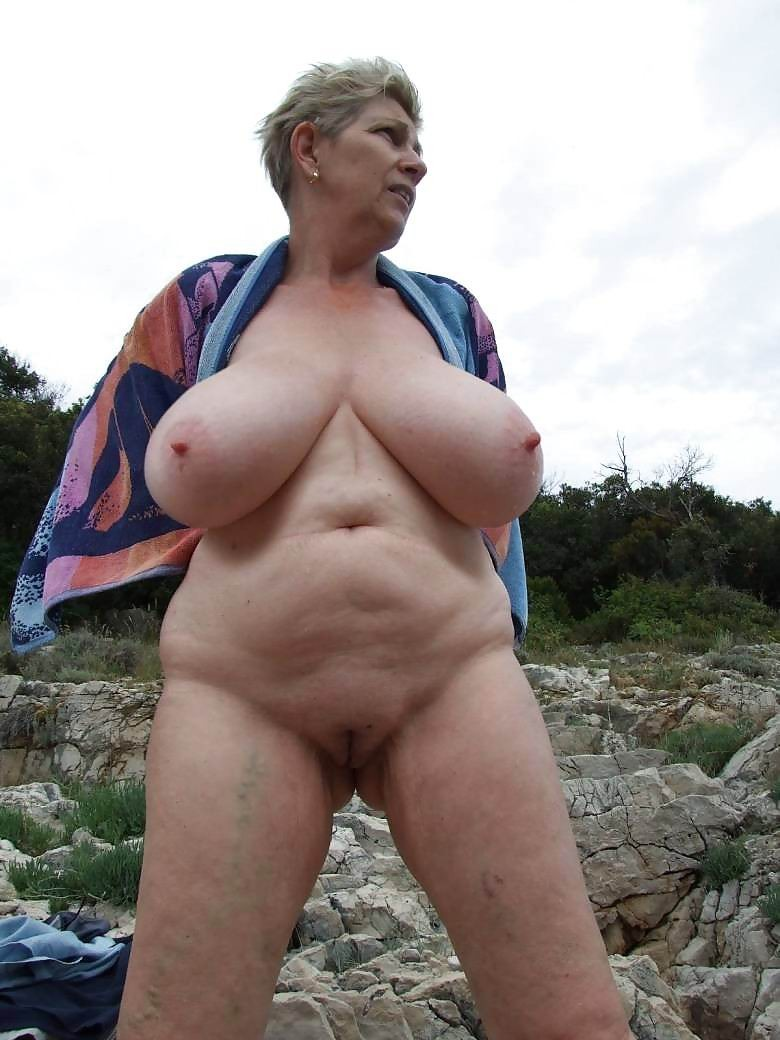 amateur grannies showing off their big boobs #67200195