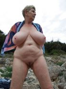 amateur grannies showing off their big boobs
