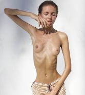 Slim and thin anorexic beauties
