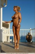 Busty german mature ready for fitness