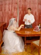 Mature matron marries man half her age