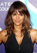 Halle Berry cleavy and leggy at the 2nd Annual Unite4Humanity in Los Angeles