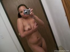 Self shot ebony girl