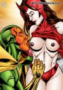 Superhero sex comics