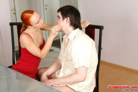 Florence and Adam sissy loser assfucked