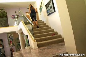 MILF Nicole Moore Gets Pumped With Big College Cock