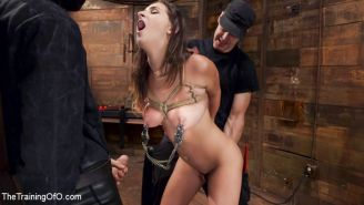Ashley Adams is an all natural big tit sex addict with a submissive streak that
