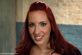 Kelly Divine and Audrey Rose are both delightfully submissive and share the task