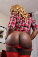 hot black girls showing off their huge asses