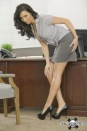 Gorgeous Tiffany Brookes in hardcore sex in office