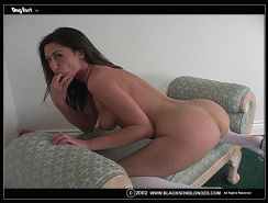 Alaura Eden does anal by her very first black Cock