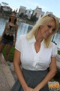 Charlee Chase, Samantha Faye - interracial sex in  Watching My Mom Go Black