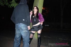 Sasha Rose Picked Up Off the Streets and Fucked for Cash in Knee High Boots