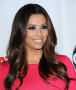 Eva Longoria showing her amazing beauty in short red dress at the Desperate Hous