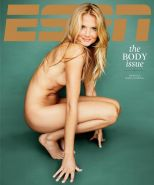 Daniela Hantuchova fully naked at ESPN's Body 2012 issue and in see-thru mini dr