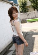 Japanese babe in public