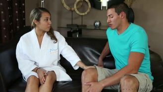 Sophia Torres gives a very special nuru massage