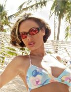 Crissy Moran at the beach