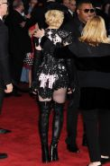 Madonna cleavy wearing a slutty outfit at the 57th Annual GRAMMY Awards in LA