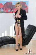 Kinky mature equestrian lady sonia wearing a super hot outfit