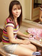 Vietnamese Shemale Sweety Strips Off Her Lace Panties