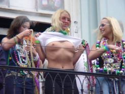 chicks naked at mardi gras and spring break