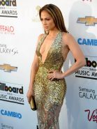 Jennifer Lopez showing huge cleavage at the 2013 Billboard Music Awards in Las V