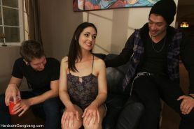 Hardcore gangbang  air tight penetration brutal sex fisting squirting and uncont