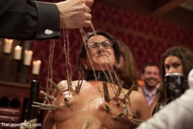 Penny Barber anal babe at kinky bdsm party fucked