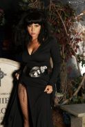 Erica Campbell sweet babe in outfit hallowen