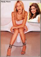 actress and sometimes pop star Mandy Moore nudes and see thrus