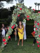 Eva Longoria cleavy  pastie peek at the launch event