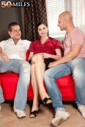 Czech out the dpd milf in cuckold threesome action