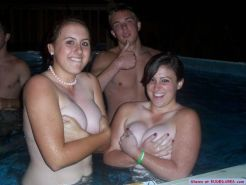 Real girlfriends caught naked