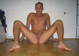 Photo selection of an amateur naked horny gay dude