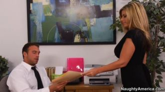 Kristal Summers in her office is only good at sex