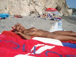 Amateur nudists open up and show off their hot bodies