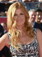 Connie Britton busty  leggy wearing hot mini dress at 2012 ESPY Awards in Los An