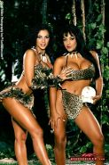 Nina Mercedez and Exotica Soto have jungle fever and have to fuck each-other!