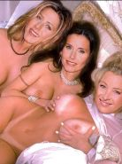 Sex friends Jennifer Aniston Courteney Cox and Lisa Kudrow