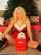 Sexy Pattycake wants you to open her present